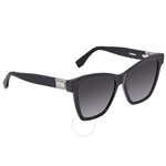 Fendi Peekaboo Grey Gradient Square Ladies Sunglasses FF0289S080755 FF0289S080755