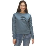 Patagonia Live Simply Trailer Uprisal Crew Sweatshirt - Womens