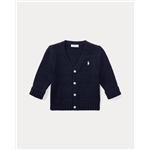 Polo Ralph Lauren Combed Cotton V-Neck Cardigan