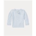 Polo Ralph Lauren Aran-Knit Cotton Cardigan