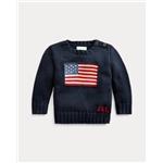Polo Ralph Lauren Flag Cotton Sweater