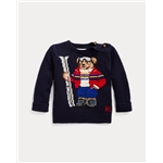Polo Ralph Lauren Ski Bear Cotton-Blend Sweater