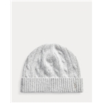 Polo Ralph Lauren Cable-Knit Wool-Cashmere Hat