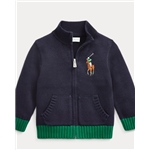 Polo Ralph Lauren Cotton Full-Zip Cardigan