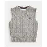 Polo Ralph Lauren Cable-Knit Cotton Sweater Vest