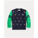 Polo Ralph Lauren Embroidered Crewneck Sweater