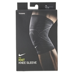 Tennisexpress Advantage Knitted Knee Sleeve Black and Anthracite
