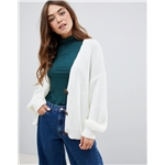 Asos ASOS DESIGN cardigan with chunky buttons