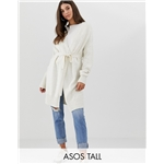 Asos ASOS DESIGN Tall long cardigan with belt detail