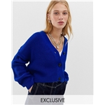 Asos COLLUSION boxy cropped cardigan