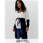 Asos Mamalicious maternity lightweight color block cardigan