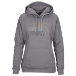 The North Face Jumbo Half Dome Pullover Hoodie - Womens / Tnf Med Grey Heather/Leopard