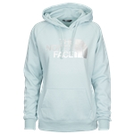 The North Face Jumbo Half Dome Pullover Hoodie - Womens / Blue Haze Heather/Silver Foil