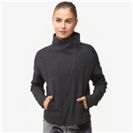 Adidas adidas Heart Racer Cover Up Jacket - Womens / Black/Solid Grey