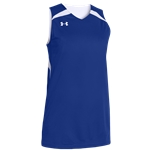 Under Armour Team Clutch Reversible Jersey - Womens / Team Royal/White