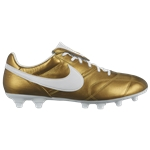 Nike The Premier II FG - Mens / Metallic Gold/White