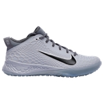 Nike Force Zoom Trout 5 Turf - Mens / Pure Platinum/Black/Wolf Grey