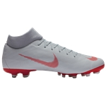 Nike Mercurial Superfly 6 Academy MG - Mens / Wolf Grey/Bright Crimson/Pure Platinum | Raised On Concrete