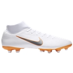 Nike Mercurial Superfly 6 Academy MG - Mens / White/Chrome/Total Orange | Just Do It