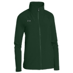 Under Armour Team Squad Woven Warm Up Jacket - Womens / Green/Steel