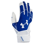 Under Armour Motive Fastpitch Batting Gloves - Womens / Royal/White