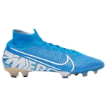 Nike Mercurial Superfly 7 Elite FG - Mens / Blue Hero/White/Volt/Obsidian | New Lights