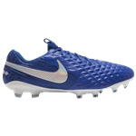 Nike Tiempo Legend 8 Elite FG - Mens / Hyper Royal/White/Deep Royal | New Lights